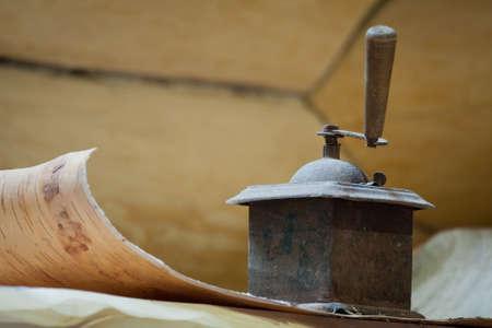 old coffee grinder photo