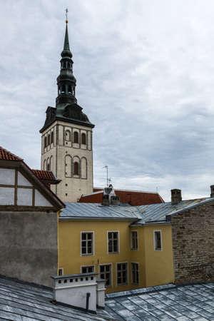 tallin: tallin old city