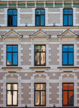 riga: riga old city windows