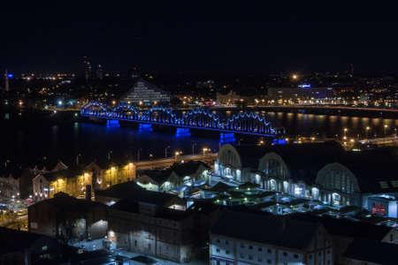 riga: riga at night