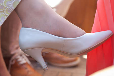 broken contract: wedding traditions shoes