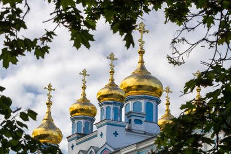 ortodox: Ortodox church domes