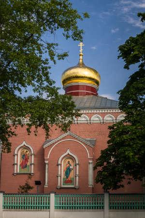 ortodox: Ortodox church in Daugavpils