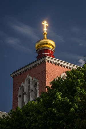 ortodox: ortodox church with dome