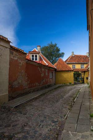 tallin: streets in old tallin Stock Photo