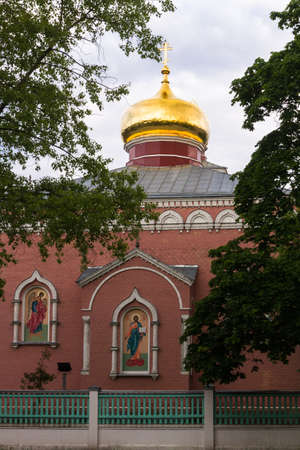 ortodox: ortodox church, domes Stock Photo