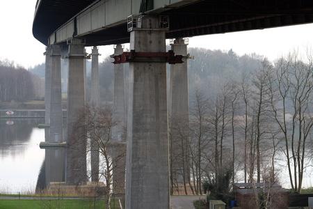 Rader bridge over the Kiel Canal
