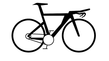 Road Bike - Bicycle - Triathlon - Vector
