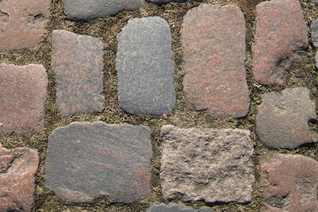 Cobblestones without pattern