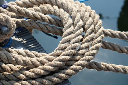 Rope at the harbor