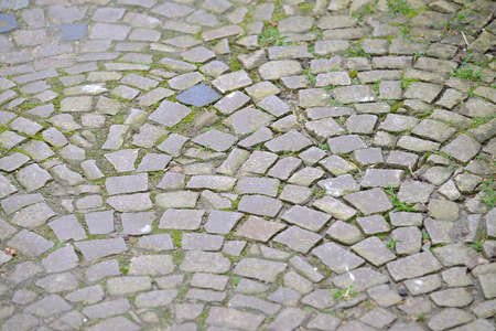 Cobblestone with pattern Banque d'images - 119793321