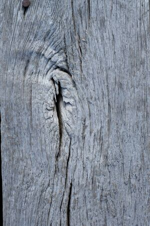 Crack on a supporting wooden beam