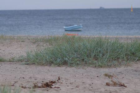 Fishing boat on the beach Stok Fotoğraf