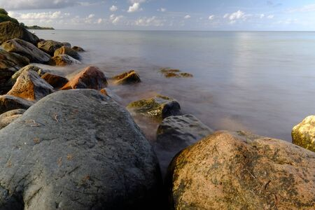 Sea view with rock