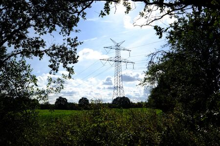 High voltage in the countryside