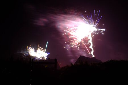 Fireworks at the turn of the year