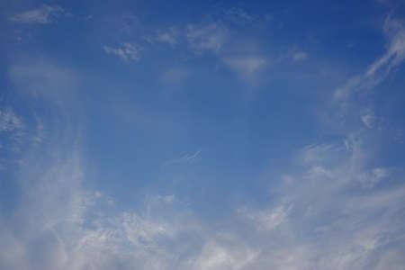 Fine cloudscape in the blue sky Standard-Bild