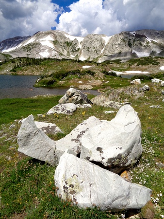 boulders: Boulders and mountains