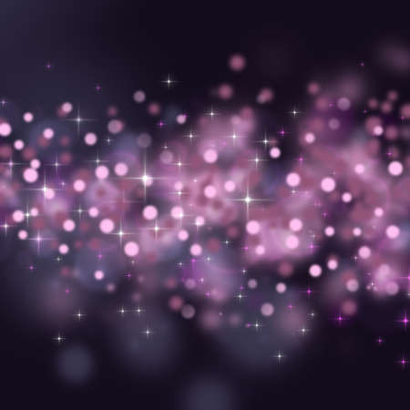 Abstract background with circles and stars