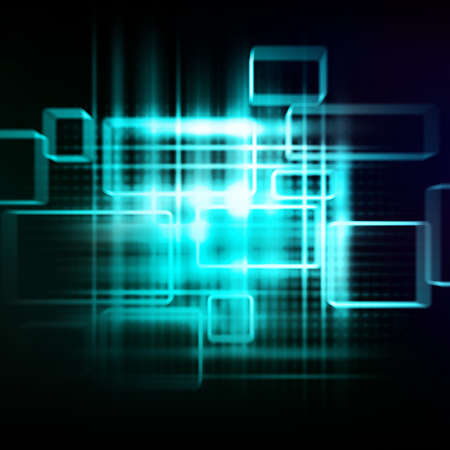 Abstract hi-tech background photo