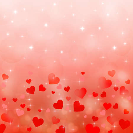 Abstract background to the Valentines day photo
