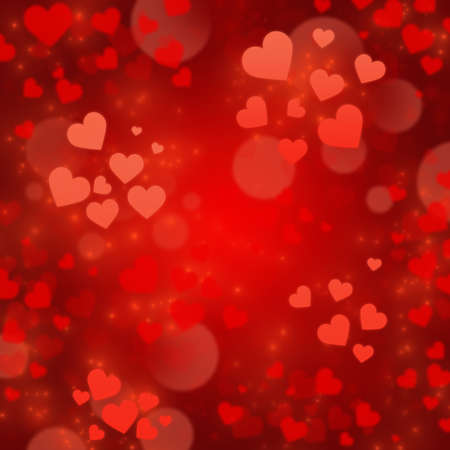Abstract background to the Valentines day