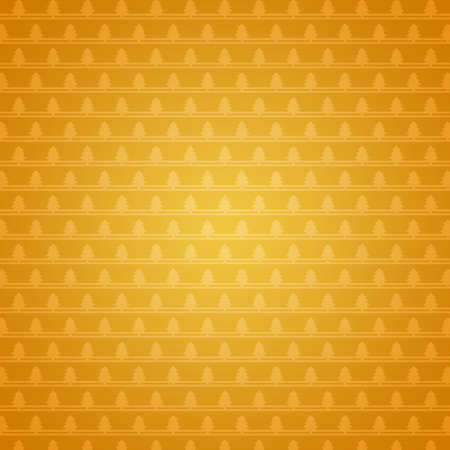 Gold background with Christmas trees photo
