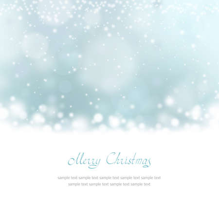 place for text: Christmas Greeting Card with place for text