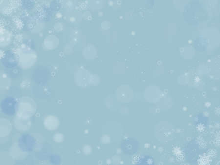 Abstract Christmas background with snowflakes Imagens
