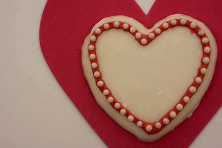 Heart cookie for valentine s day