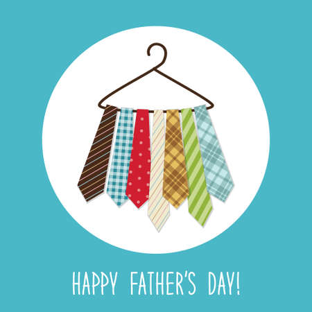 antiques: Festive retro greeting card for Fathers day