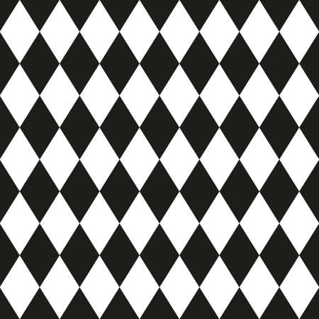 Monochrome seamless pattern in 80s style