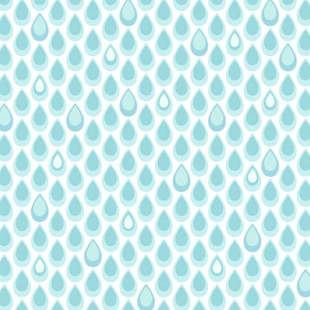 Cute retro seamless pattern with drops illustration.