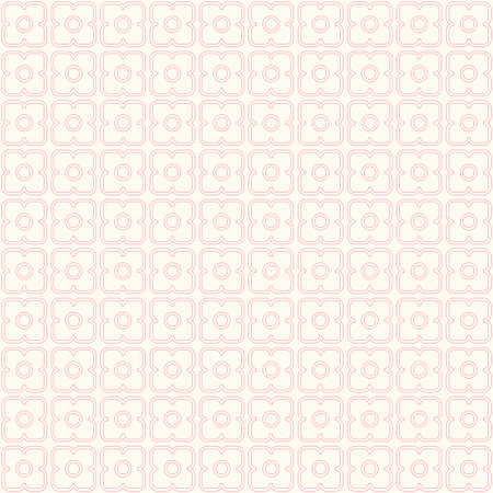 Vintage background in shabby chic style as squares pattern Ilustracja