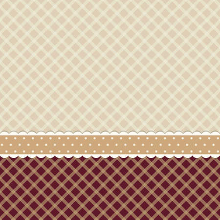 Vintage background in shabby chic style Illustration