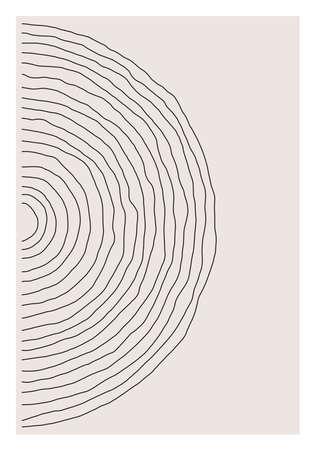 Trendy abstract creative minimalist artistic hand painted composition 版權商用圖片 - 153110974