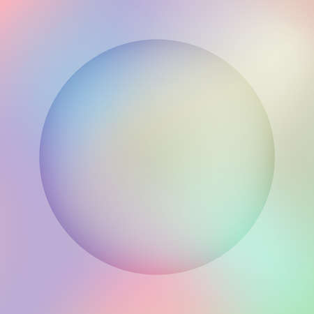Modern gradient vector background in pastel colors