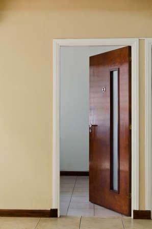 open door of the office 1 Фото со стока
