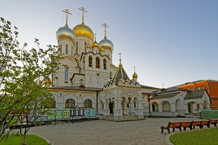 crux: Nativity of the Blessed Virgin Cathedral in the Conception Convent in Moscow, Russia
