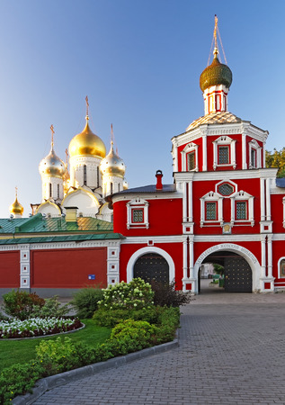 crux: Cathedral of Nativity of Mary and gateway church in Conception convent in Moscow