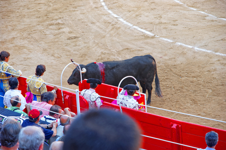corrida: Spanish national amusement corrida held at the arena of La Monumental Bullring and Bulfighting Museum. It was closed in 2011 when bullfighting was banned by the Parliament of Catalonia