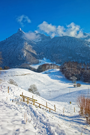 gruyere: Beautiful mountain landscape of Gruyere located in the midst of the Fribourg green pre-Alpine foothills, Switzerland