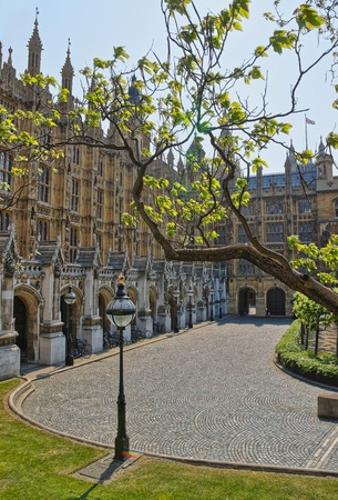 commons: Palace of Westminster in London, the UK. It is a meeting place of the House of Lords and the House of Commons, the two houses of the UK Parliament.