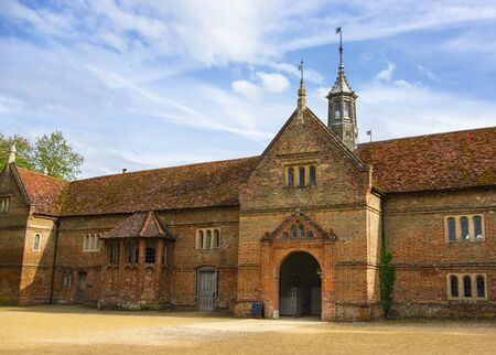 jacobean: Stable in Audley End House in Essex in England. It is a medieval county house. Now it is under protection of the English Heritage.