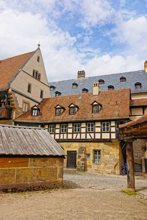 alte: Old palace in the city center of Bamberg in Germany. It is also called Alte Hofhaltung.
