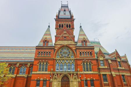 harvard university: Transept of Memorial Hall in Harvard University of Cambridge, Massachusetts, USA. It was built in honor of men who died during the American Civil War.