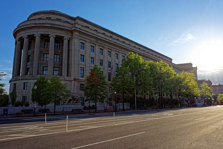 antitrust: Federal Trade Commission Building is located in Washington D.C., USA. It is the headquarters for Federal Trade Commission. The architect of the building was Edward H. Bennett and was built in 1938. Editorial