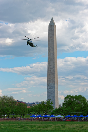 first nations: Helicopter was seen flying near the Washington monument. Tourists visit this very often and it is one of the main symbols in the United States.