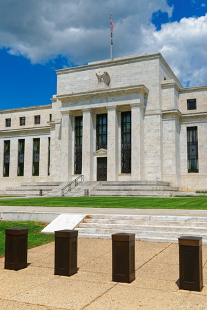monetary policy: Marriner S. Eccles Federal Reserve Board Building was photographed in Washington D.C., USA. It is the headquarters of the Board of Governors of the Federal Reserve System. It was built in 1937.