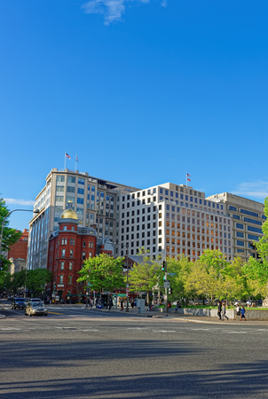 Fireman Insurance Company Building is situated in Washington D.C., USA. It is a historical building and was completed in 1882. The Fireman Insurance Company owned the building in the 1950s. Editorial